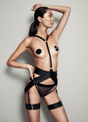 Bordelle Asobi Harness Front Model Lookbook