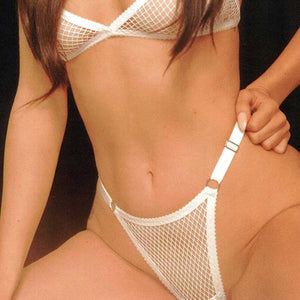 Hopeless Nathalie Thong White Fishnet