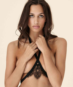 Tisja Damen Angel or Siren Harness Black