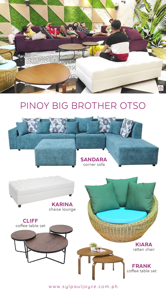 AS SEEN ON: Pinoy Big Brother Otso