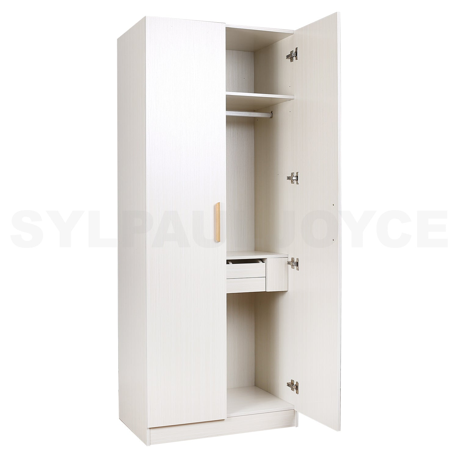 Analyn 2 Door Wardrobe - Sylpauljoyce Furniture, Lights & Decor