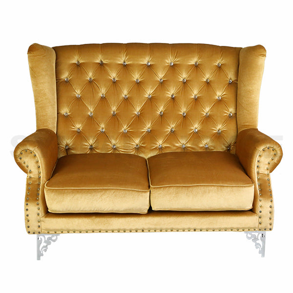 Jewel High Back Loveseat
