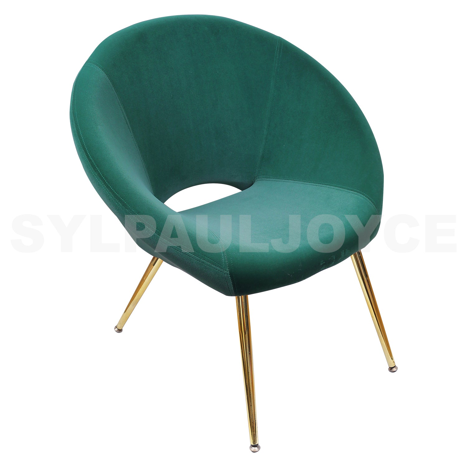 Letty Round Accent Chair