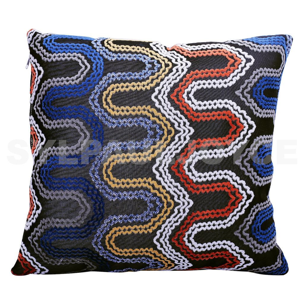 Zigzag Textured Pillow