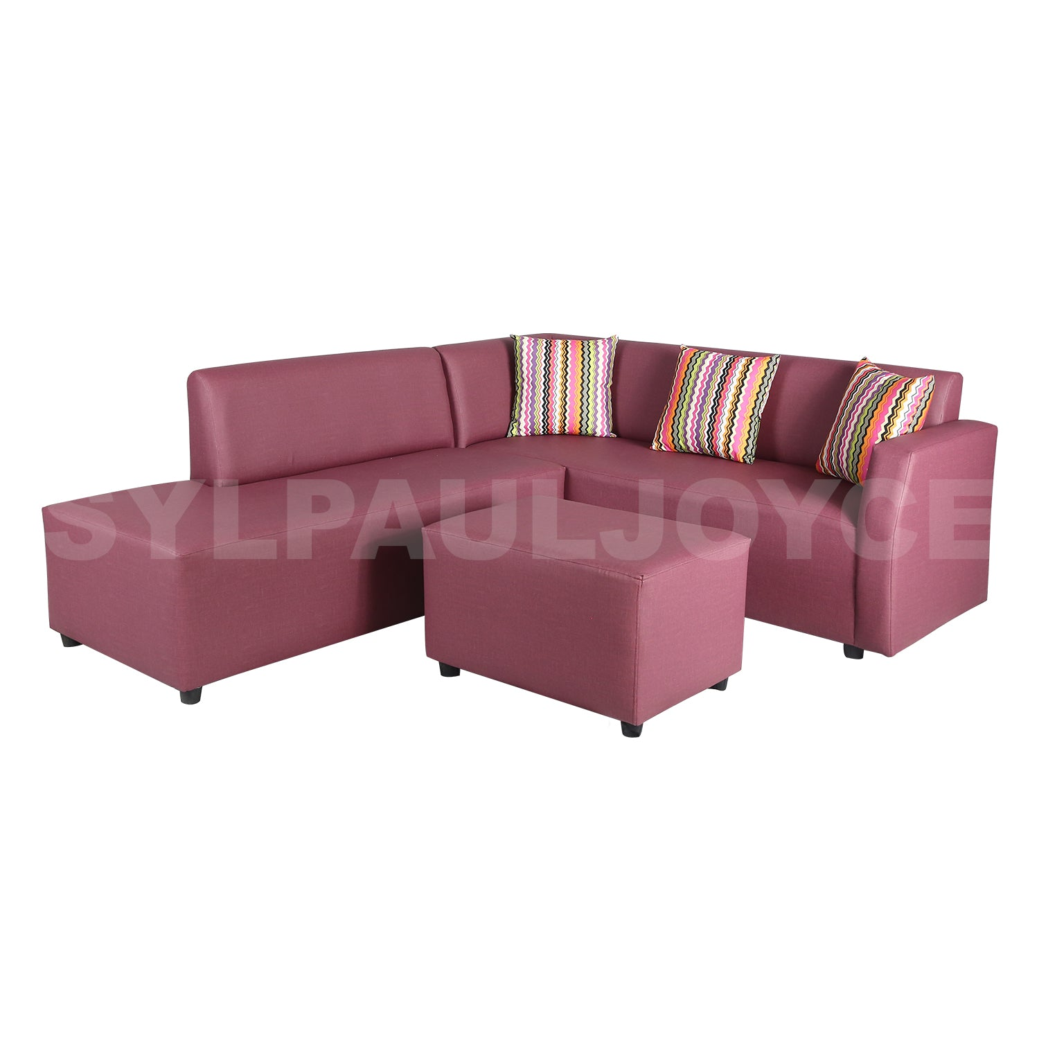 James Corner Sofa with Stool