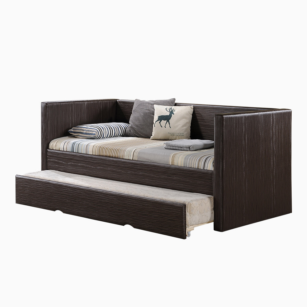 Omeh Trundle Bed (36x36x75)
