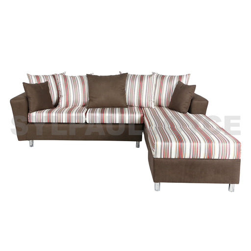 Soprano L-shape Sofa with Stool