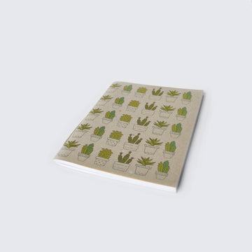 NESRINE FOR NAAD | CACTUS AND SUCCULENT PLANTS NOTEBOOK