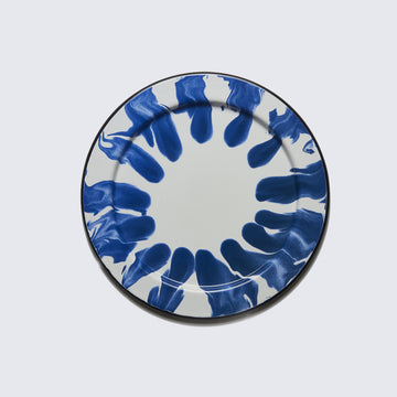 KAPKA | BLUE ENAMELLED METAL PLATE