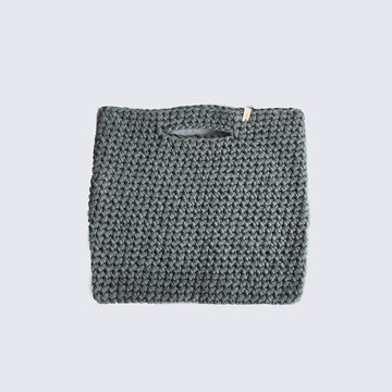 WOOLANDMOON | KNITTED OLIVE BAG
