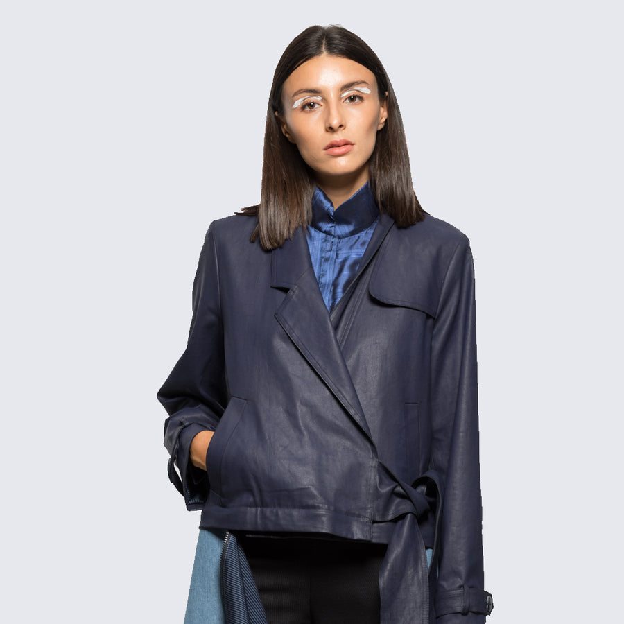 ANISSA AIDA | DETACHABLE TRENCH COAT