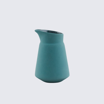 HEND KRICHEN | GREEN CERAMIC MILK JUG