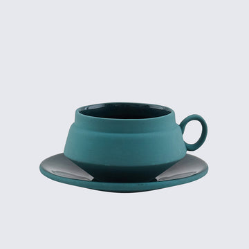 HEND KRICHEN | GREEN CERAMIC TEACUP