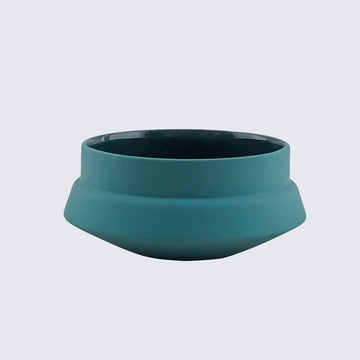 HEND KRICHEN | GREEN CERAMIC BOWL