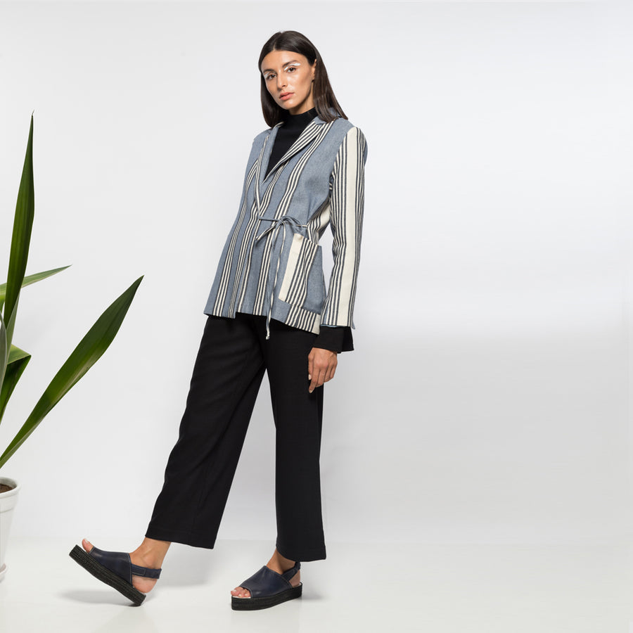 ANISSA AIDA | MOON LIGHT WRAP BLAZER