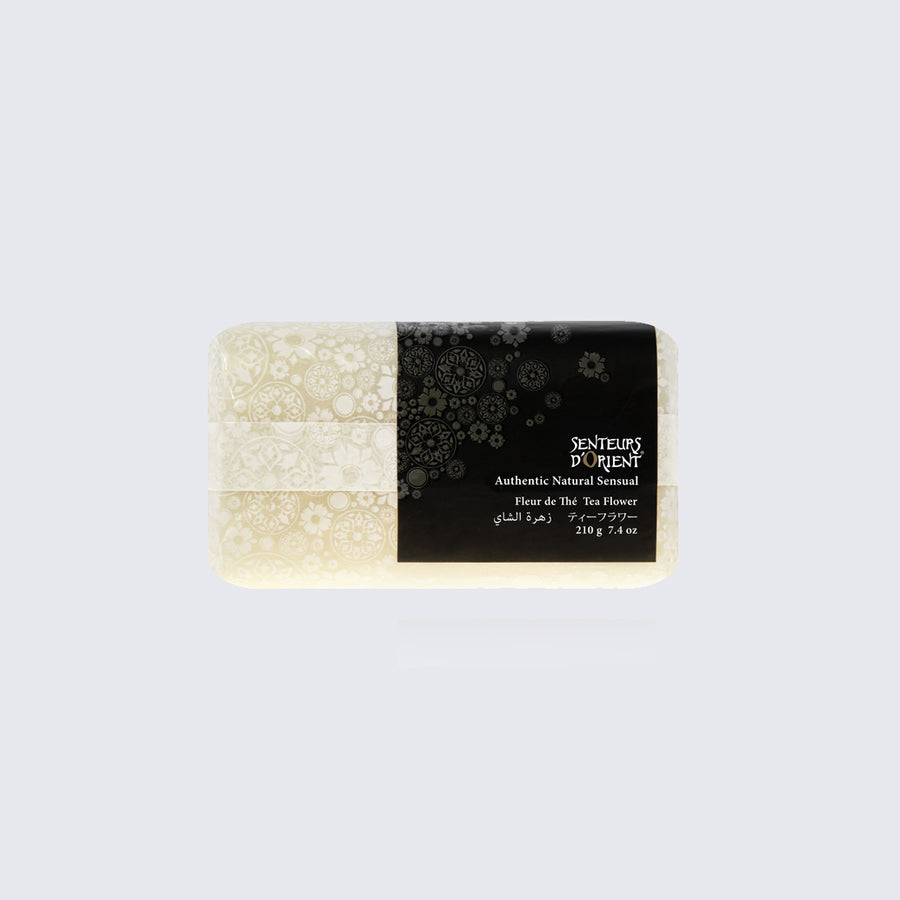 SENTEURS D'ORIENT | ROUGH CUT SOAP FLOWER TEA