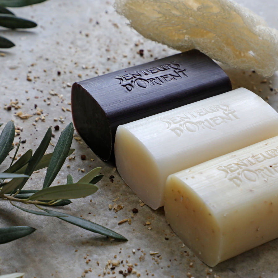 SENTEURS D'ORIENT | ROUGH CUT SOAP ALMOND EXFOLIANT