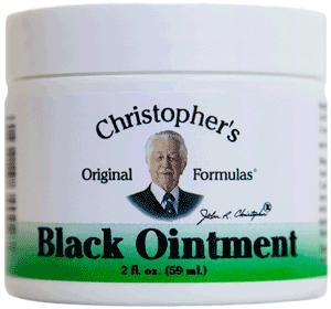 Black Drawing Ointment 2 oz.