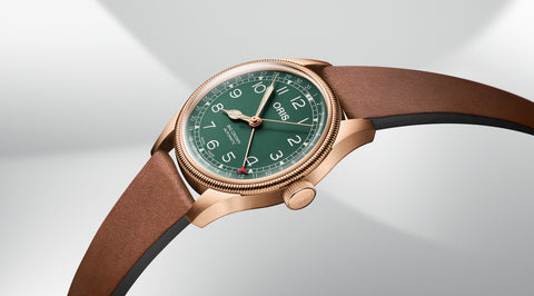 ORIS 01 754 7741 3167-07 5 20 58BR Big Crown Bronze Pointer Date automaattikello