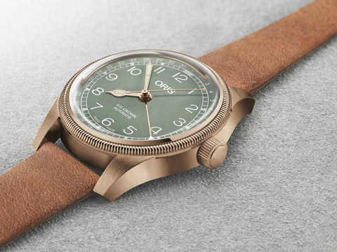 ORIS 01 754 7749 3167 Big Crown Bronze Pointer Date automaattikello