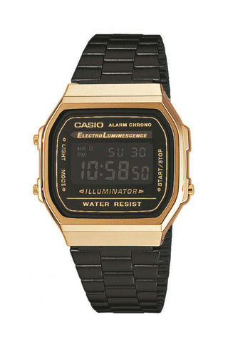 CASIO A168WEGB-1BEF Retro digikello