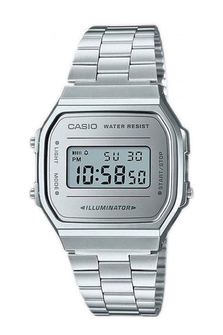 CASIO A168WEM-7EF Retro digikello