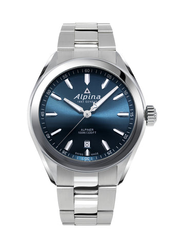 ALPINA AL-240NS4E6B Alpiner Quartz Navy Blue