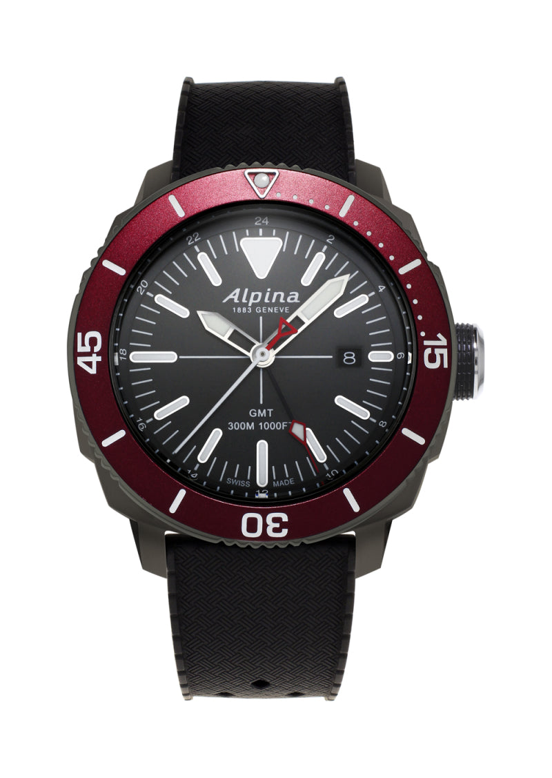 ALPINA AL-247LGBRG4TV6 Seastrong Diver Quartz GMT
