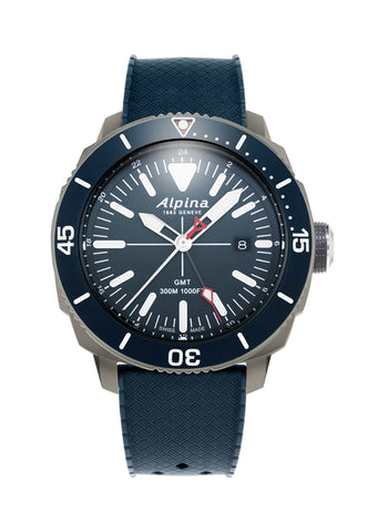 ALPINA AL-247LNN4TV6 Seastrong Diver Quartz GMT