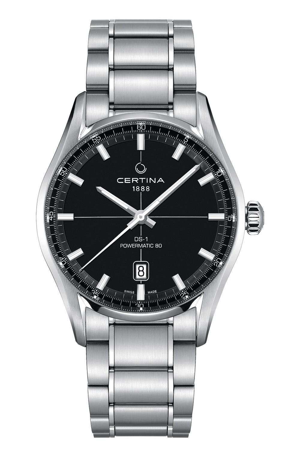 CERTINA C029.407.11.051.00 DS 1 Powermatic 80 miesten rannekello