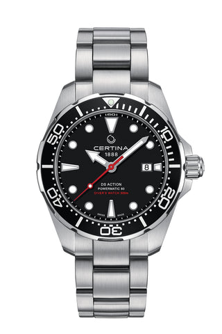 CERTINA C032.407.11.051.00 DS Action Diver Powermatic 80 miesten rannekello automaatti