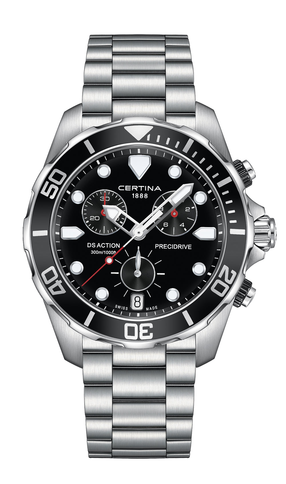 CERTINA C032.417.11.051.00 DS Action Chronograph miesten rannekello