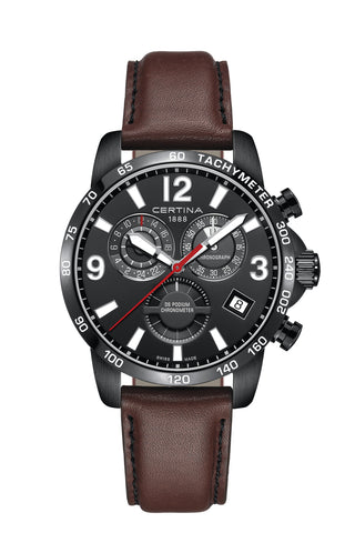 CERTINA C034.654.36.057.00 DS Podium Chronograph GMT miesten rannekello