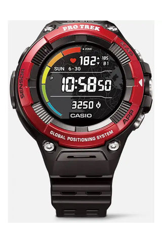 CASIO WSD-F21HR-RDBGE Pro Trek Smart älykello