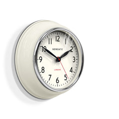 NEWGATE COOK343LW Cookhouse clock linen white seinäkello
