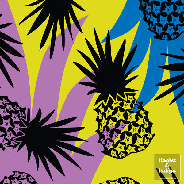 Wild Pineapples - Fruit (placement print)