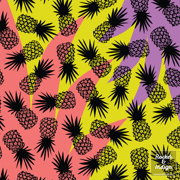 Wild Pineapples - Scatter (placement print)