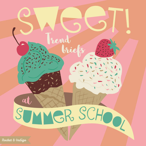 Sweet! A typography testimonial for Summer School