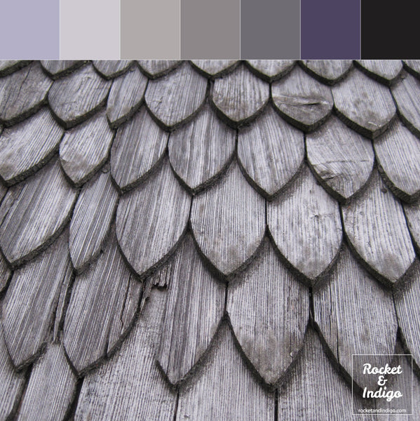 Wood sculpture colour palette