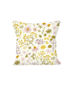 "Cushion, small, ""Wildflower Walk"""