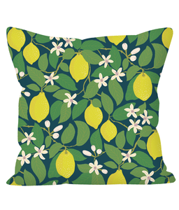 "Cushion, regular, ""Lemon Tree"""