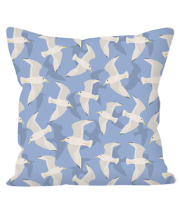 "Cushion, regular, ""Seagulls"""