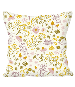 "Cushion, regular, ""Wildflower Walk"""