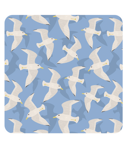 "Placemat, square, ""Seagulls"""