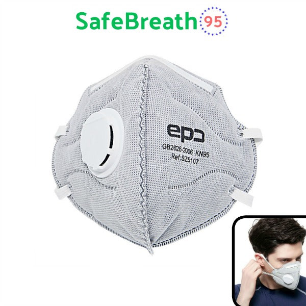 SafeBreath - Premium Quality KN95 Protective Mask