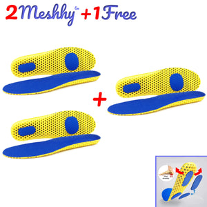2 Meshhy™ - Breathable Memory Foam Insoles (Buy 2, Get 1 FREE!)