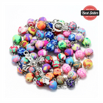 Colorful Clay Bead Rosary