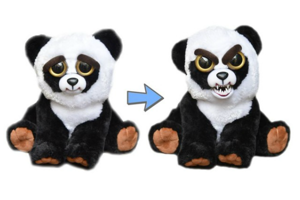 Plush Stuffed Pets Toys That Turn Feisty With A Squeeze