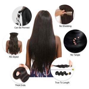 West Kiss — Luxury Hair Bundles with Frontal Pre Plucked Lace