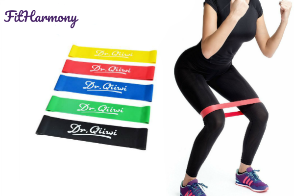 Fit Bands Harmony - Extra-Durable Muscle Building Resistance Bands